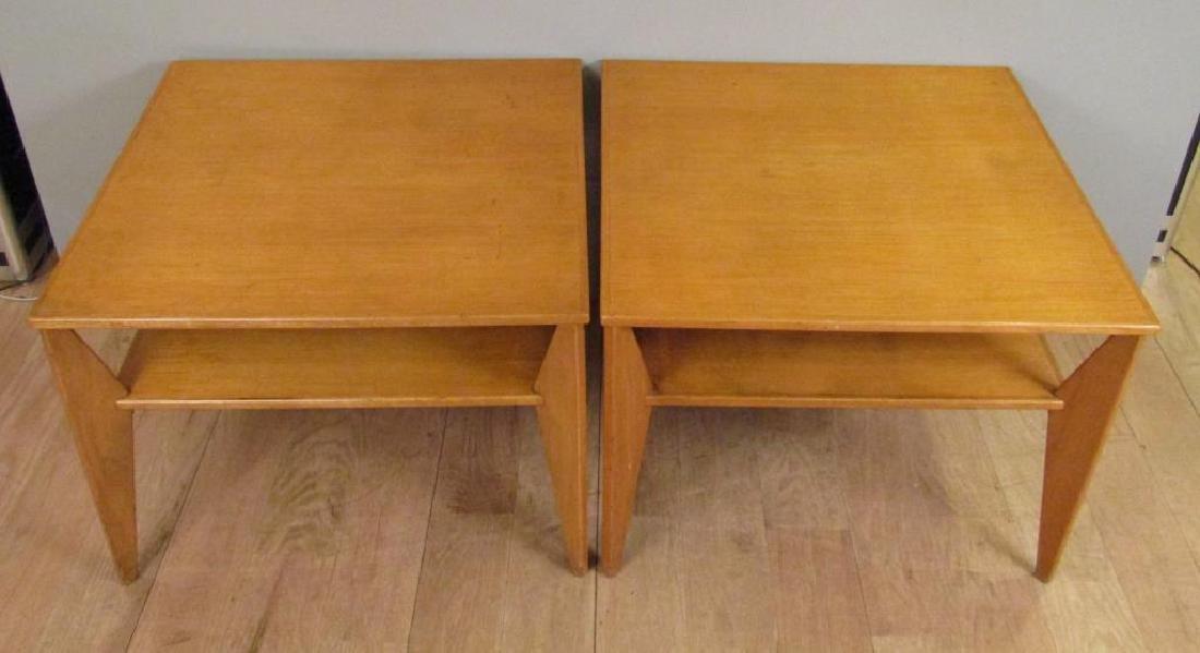 Pair Mid Century Lamp Tables - 2