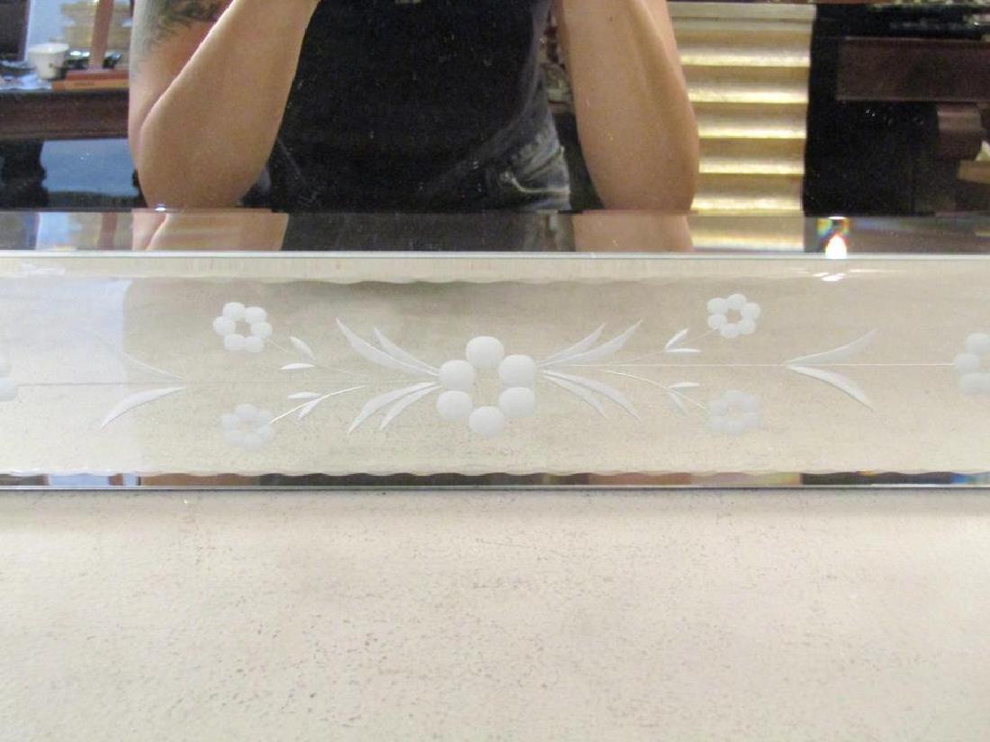 Venetian Style Beveled Glass Mirror - 5