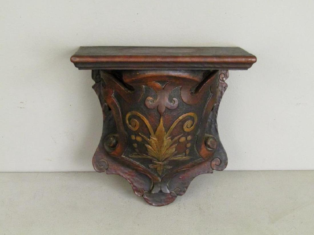 Antique Carved Wood Bracket