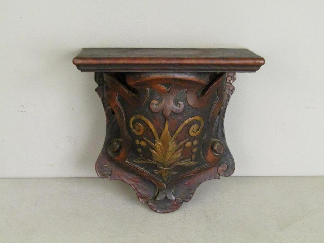 Antique Carved Wood Bracket