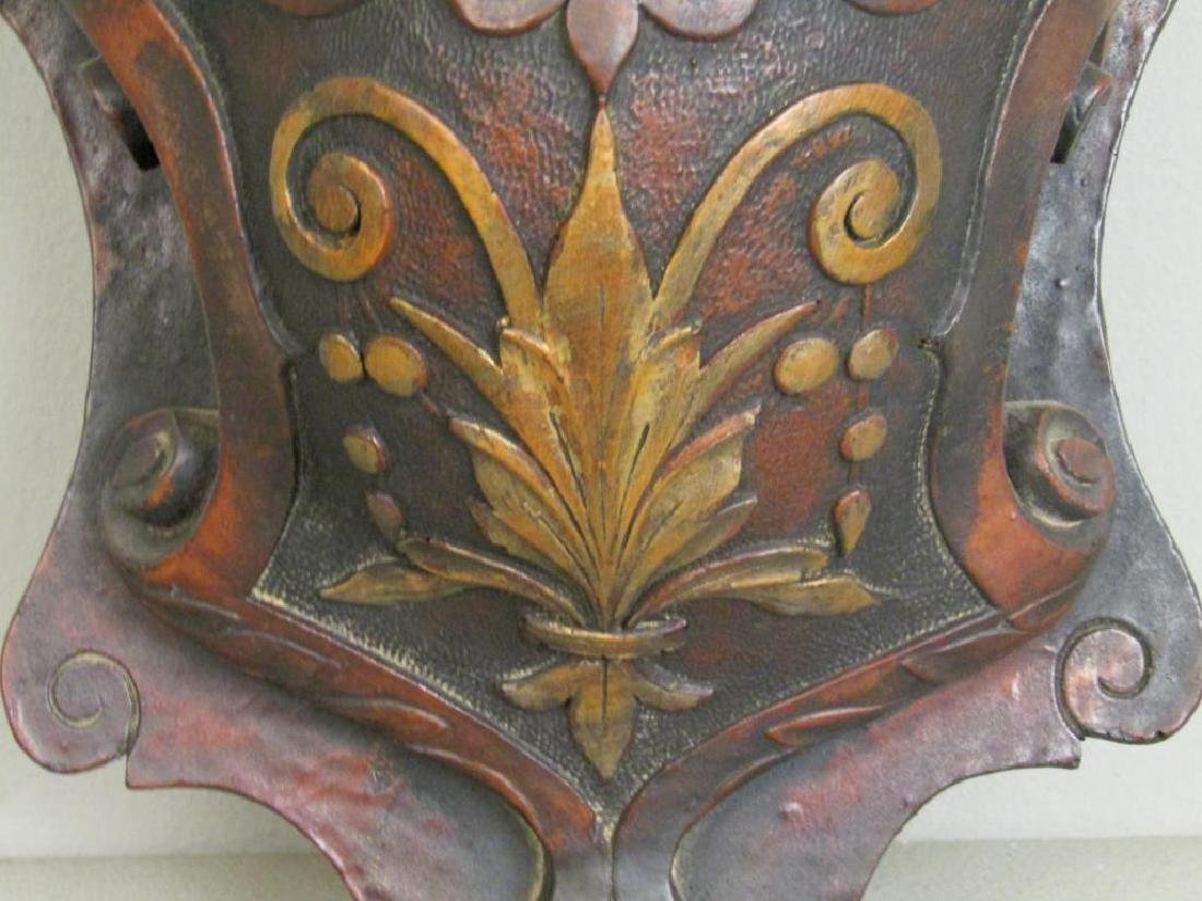 Antique Carved Wood Bracket - 3