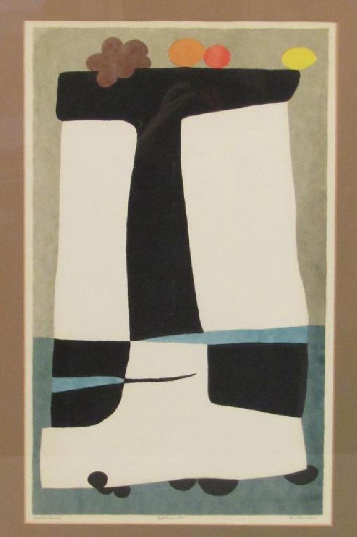 Edward Landon (American, 1911-1984) - Lithograph