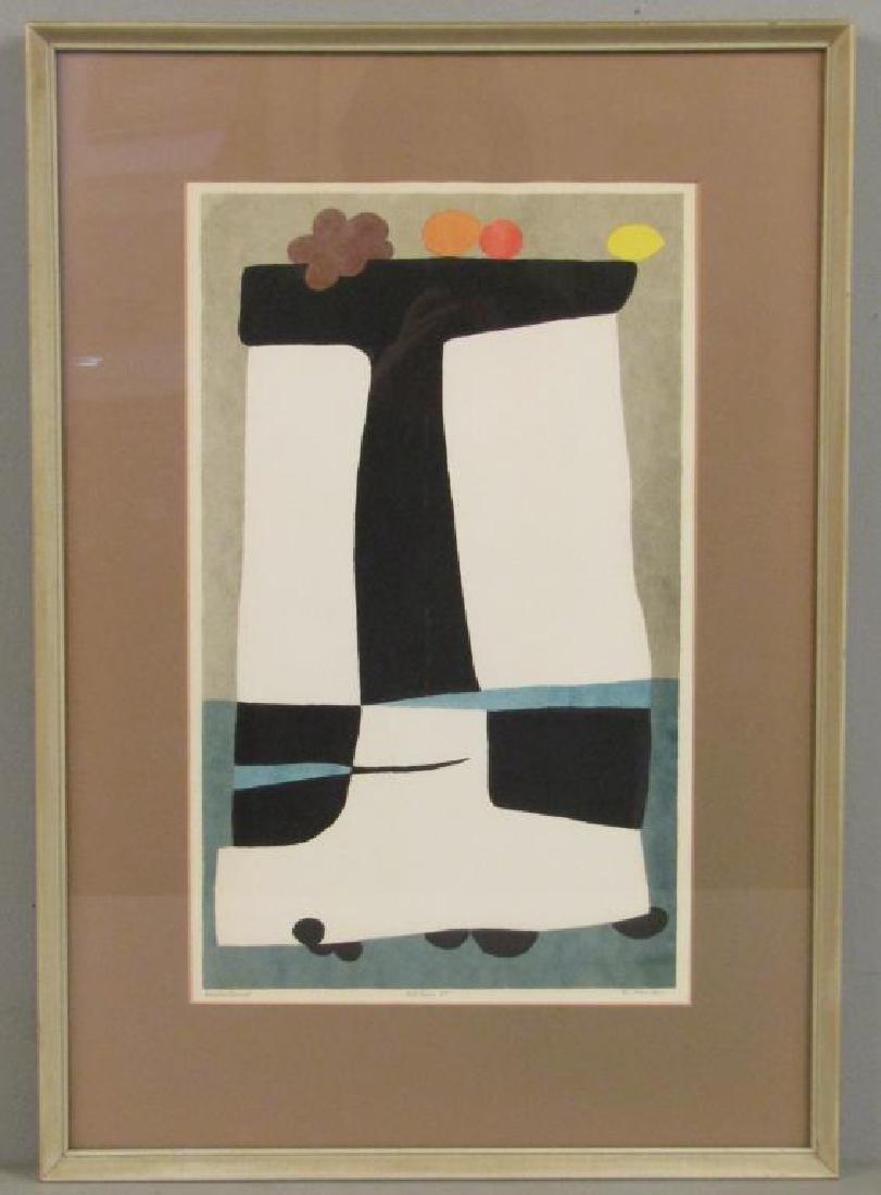 Edward Landon (American, 1911-1984) - Lithograph - 2