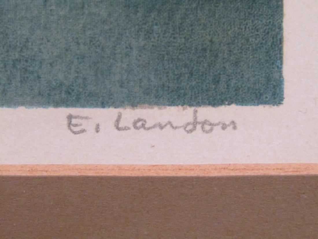 Edward Landon (American, 1911-1984) - Lithograph - 7