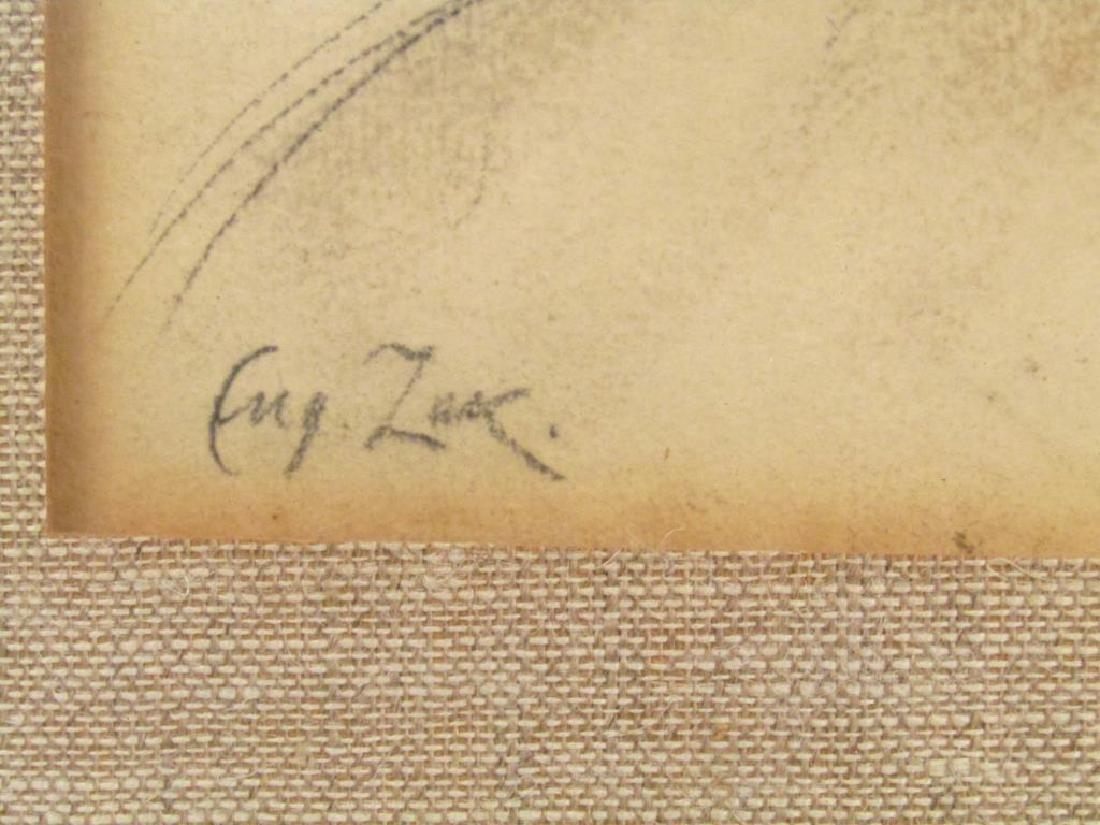 Eugeniusz Zak (Polish 1884 - 1926) - Pastel on Paper ** - 4