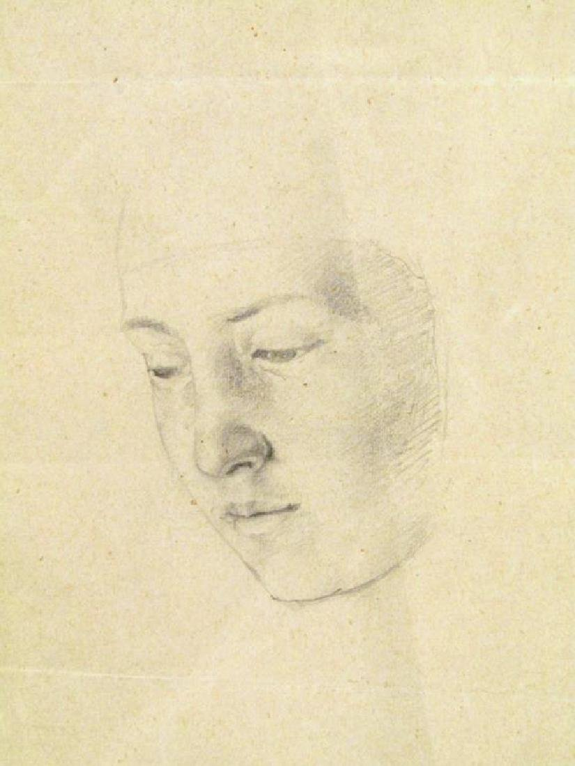 Antique Pencil Drawing - 3