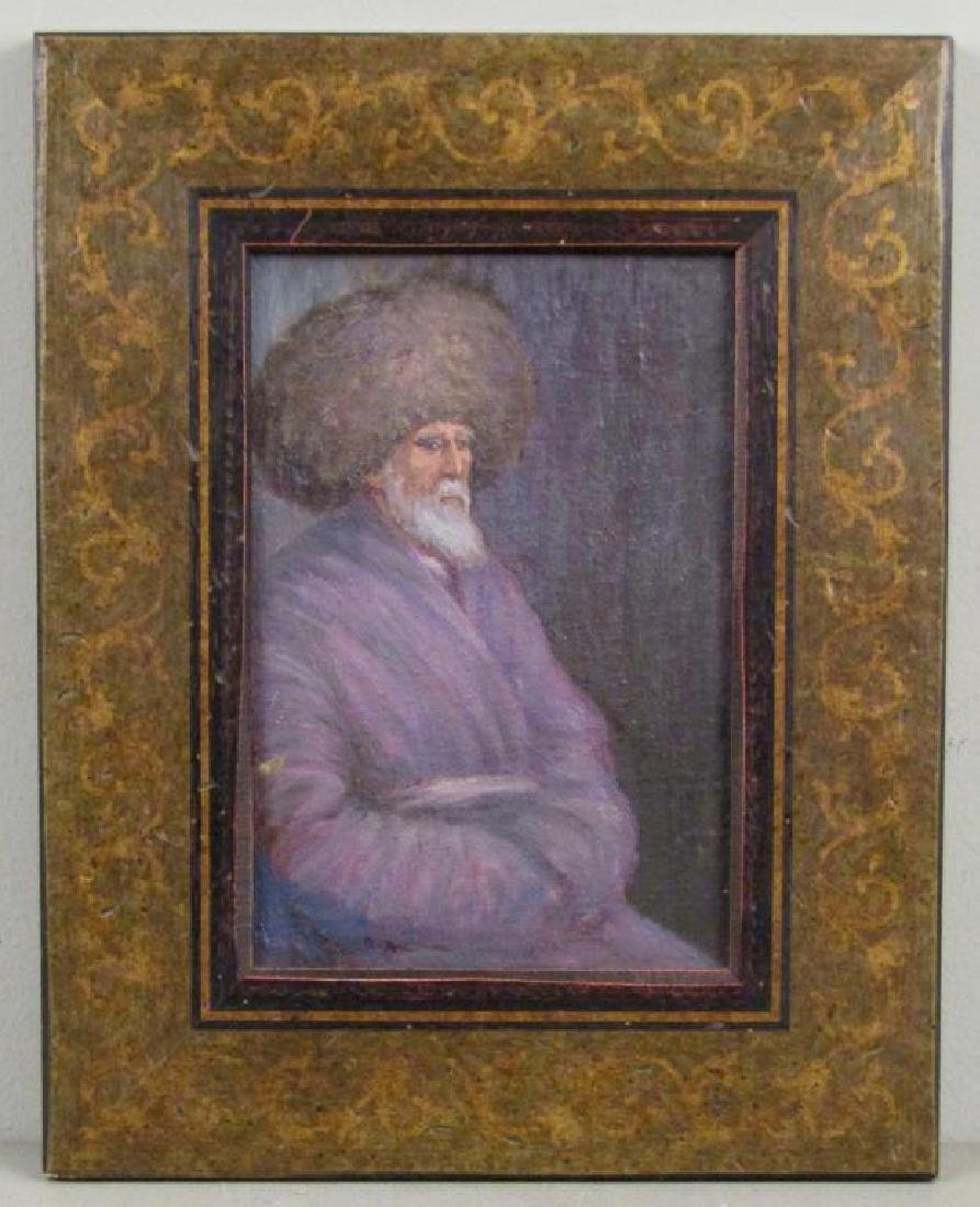 Unsigned - Russian Oil on Board - 2