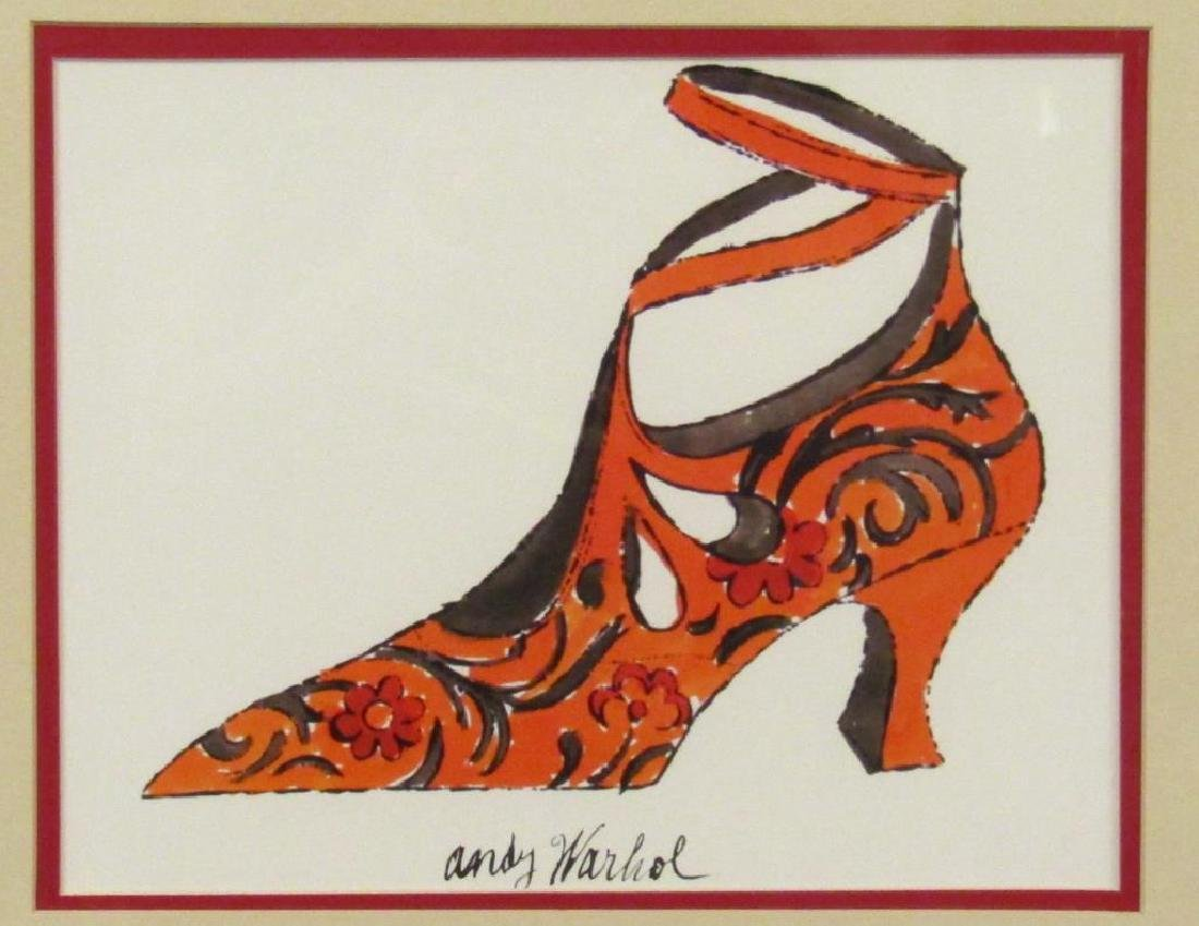 After Andy Warhol - Lithograph