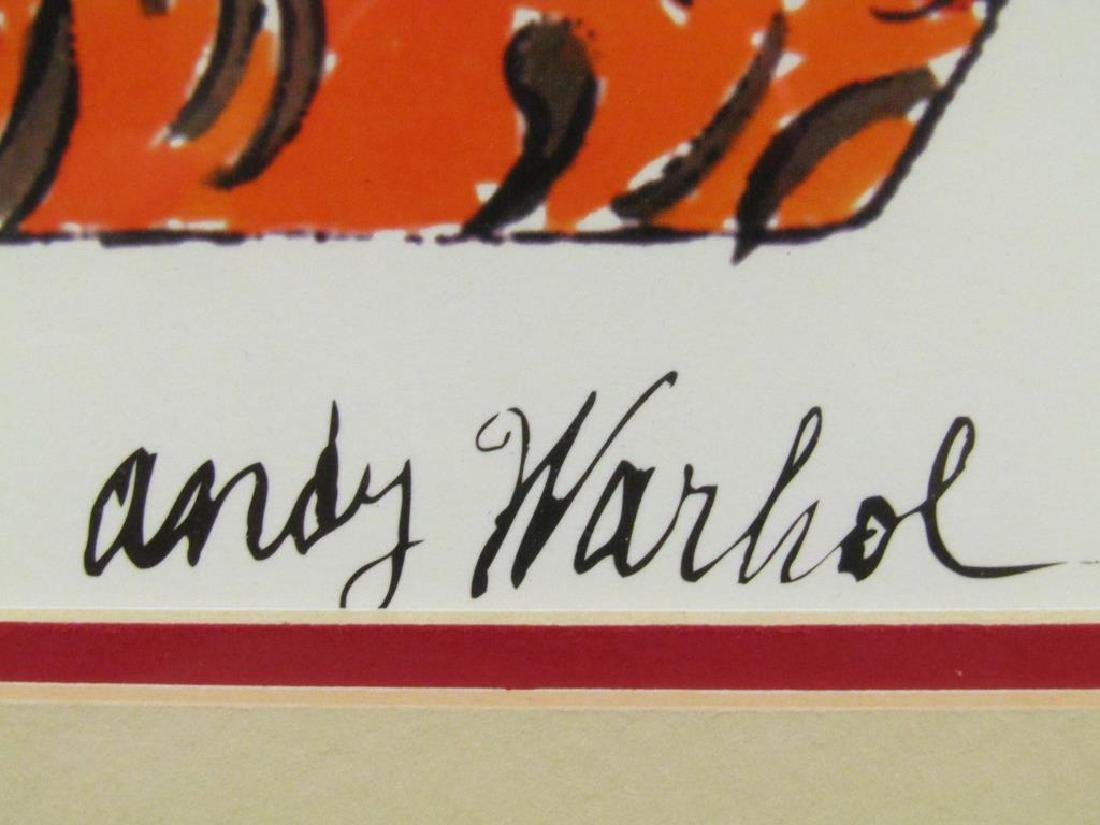 After Andy Warhol - Lithograph - 4