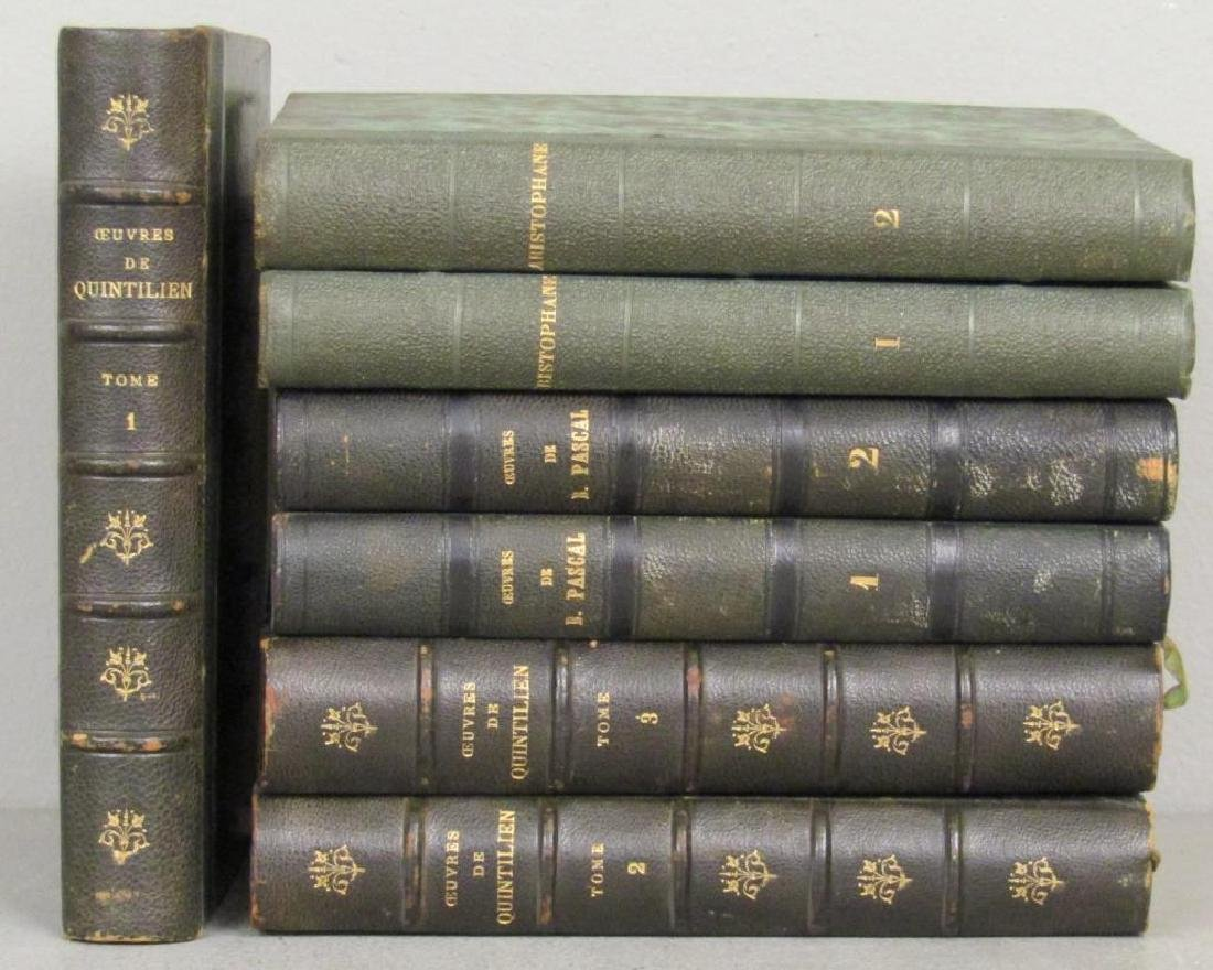 3 Sets of Leather Bound Books - 2