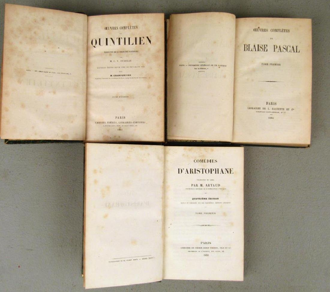 3 Sets of Leather Bound Books - 3