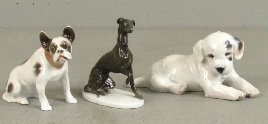 4 Rosenthal Porcelain Dogs - 4