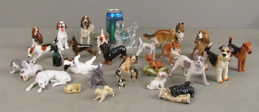 Large Lot of Dog Figurines - 2