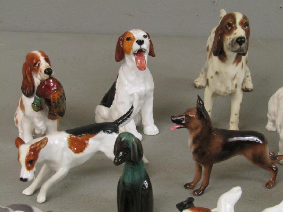 Large Lot of Dog Figurines - 3
