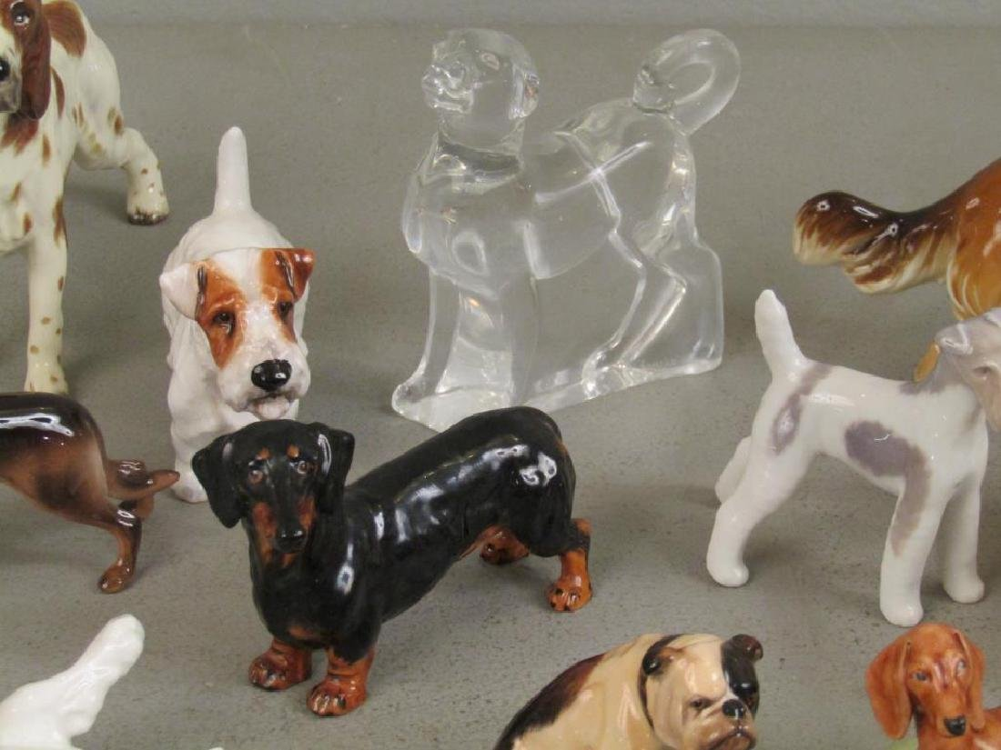 Large Lot of Dog Figurines - 5
