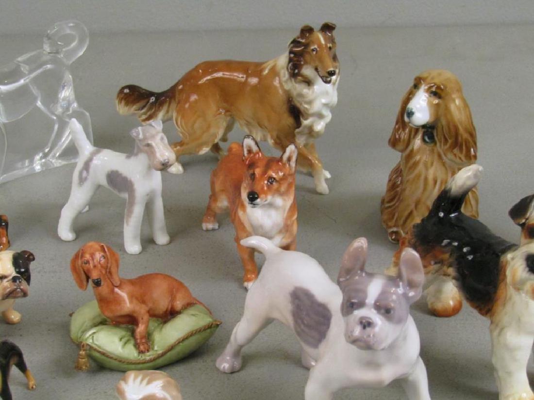 Large Lot of Dog Figurines - 6