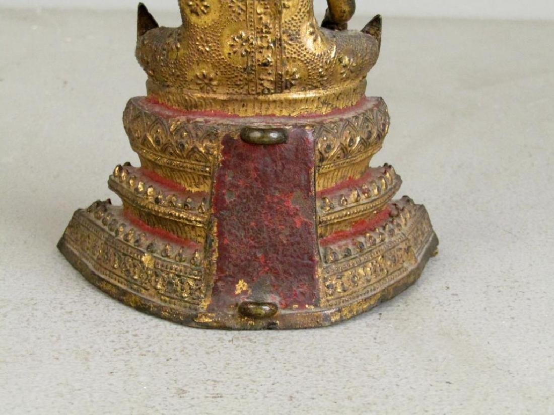 Small Gilt Metal Bodhisattva - 5
