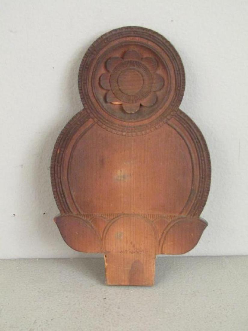 Chinese Carved Wood Seated Buddha/Bodhisattva - 9