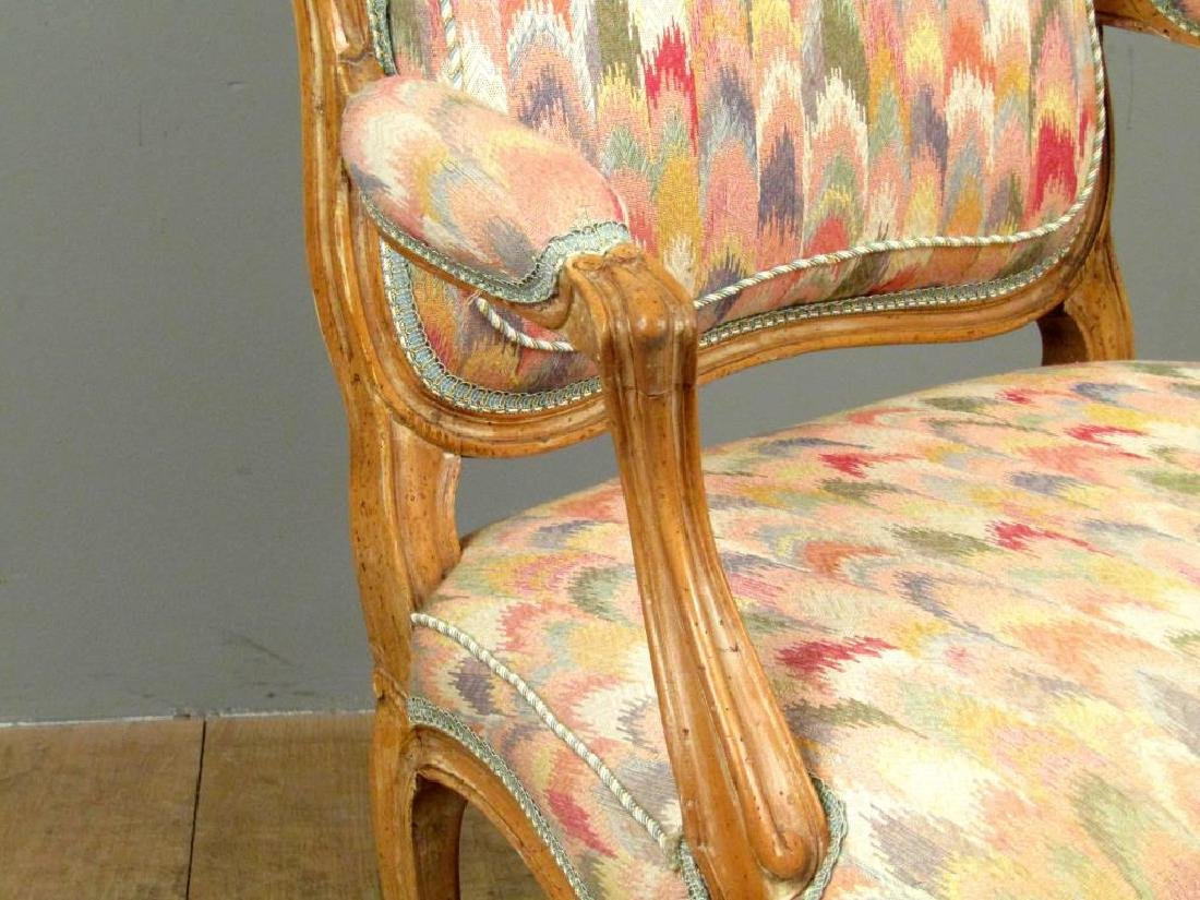Louis XV Style Fauteuil - 4