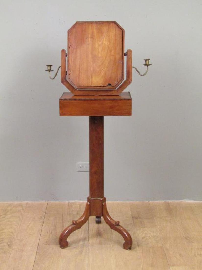 Antique English Standing Shaving Mirror - 8