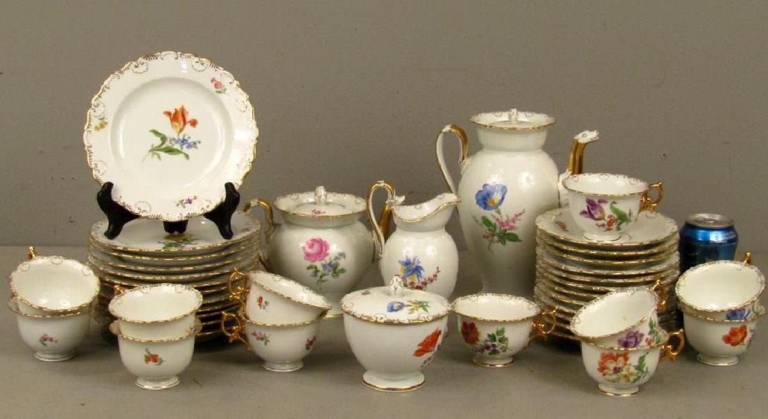40 Piece Meissen Porcelain Dessert Set - 2