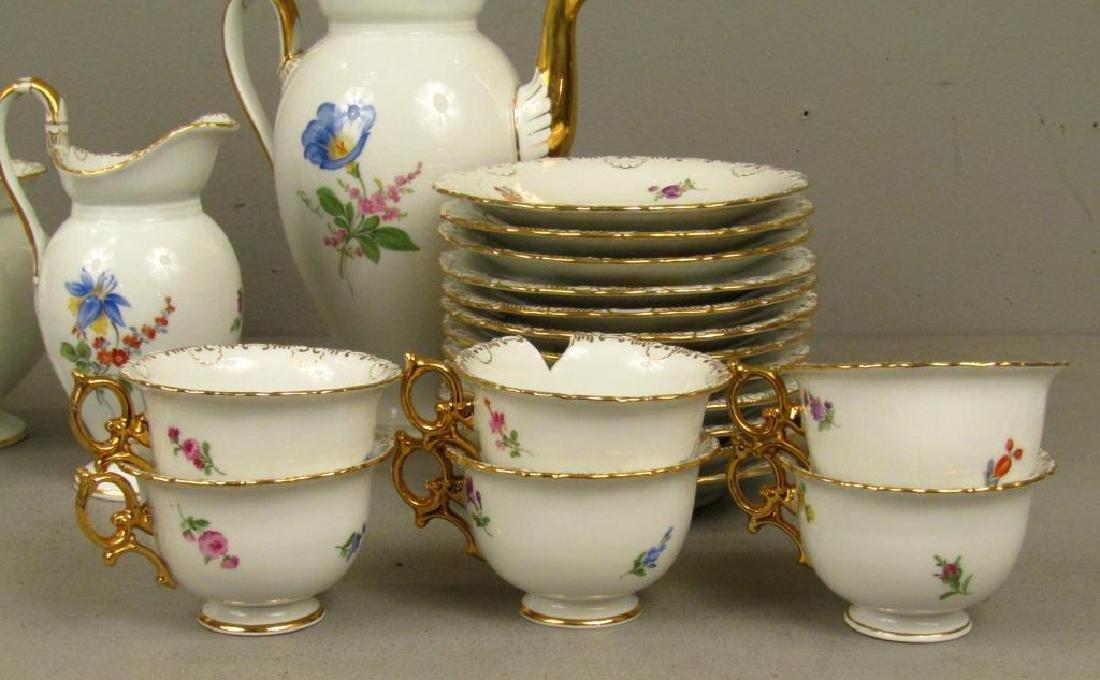 40 Piece Meissen Porcelain Dessert Set - 4