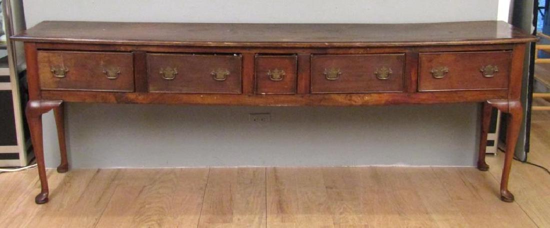 Antiqued English - Welsh Dresser / Sidebaord