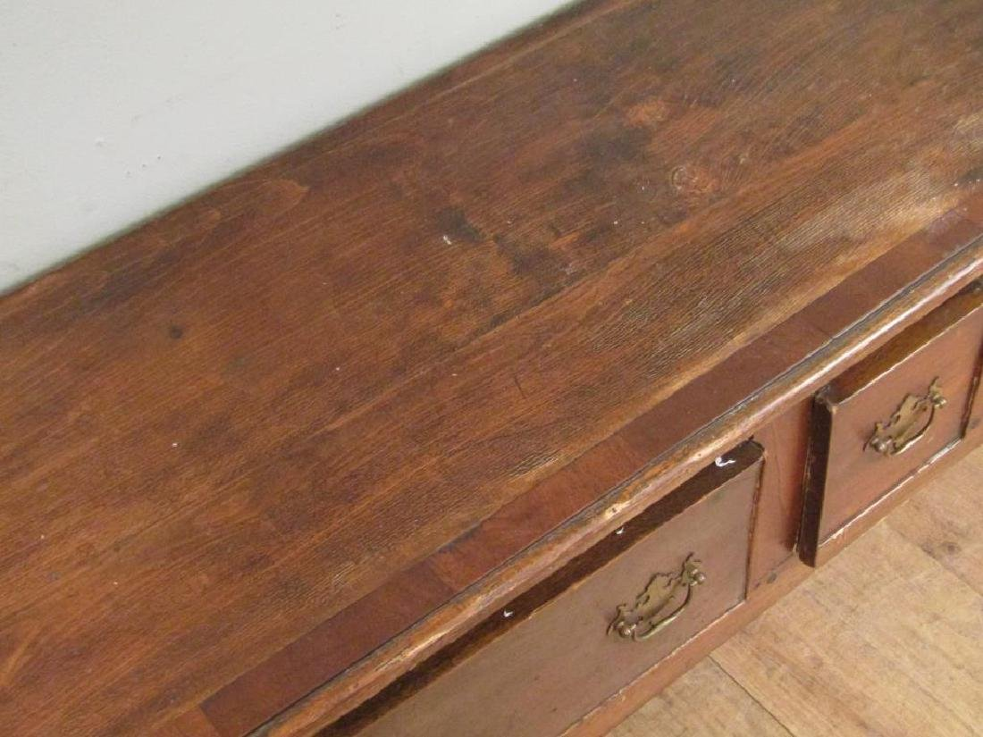 Antiqued English - Welsh Dresser / Sidebaord - 3