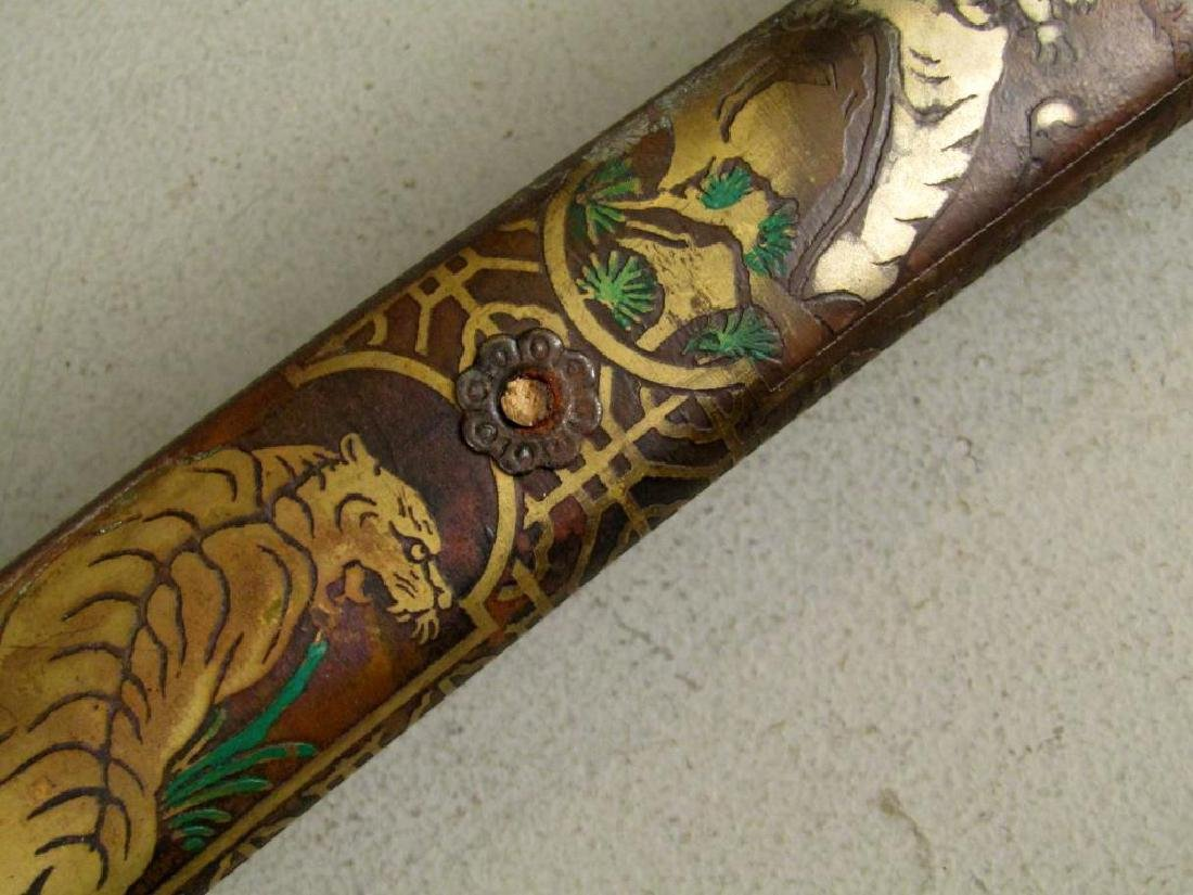 Antique Japanese Sword - 8