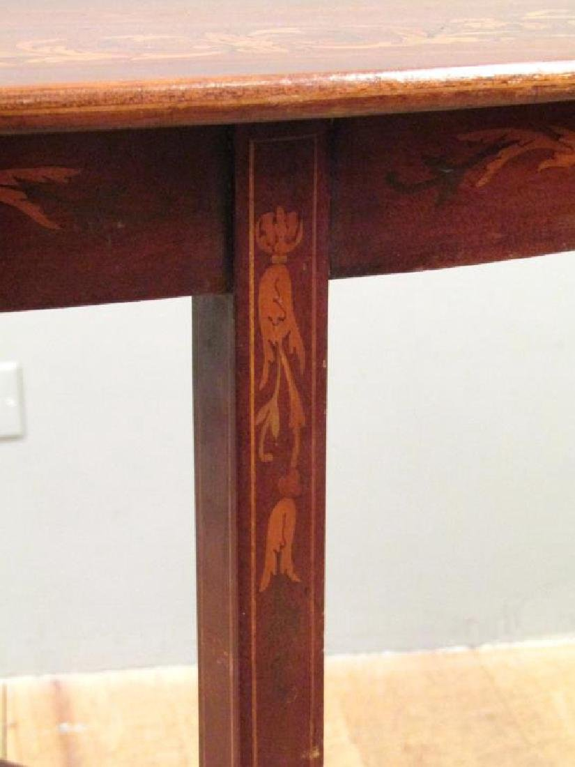 Dutch Marquetry Inlaid Table - 6