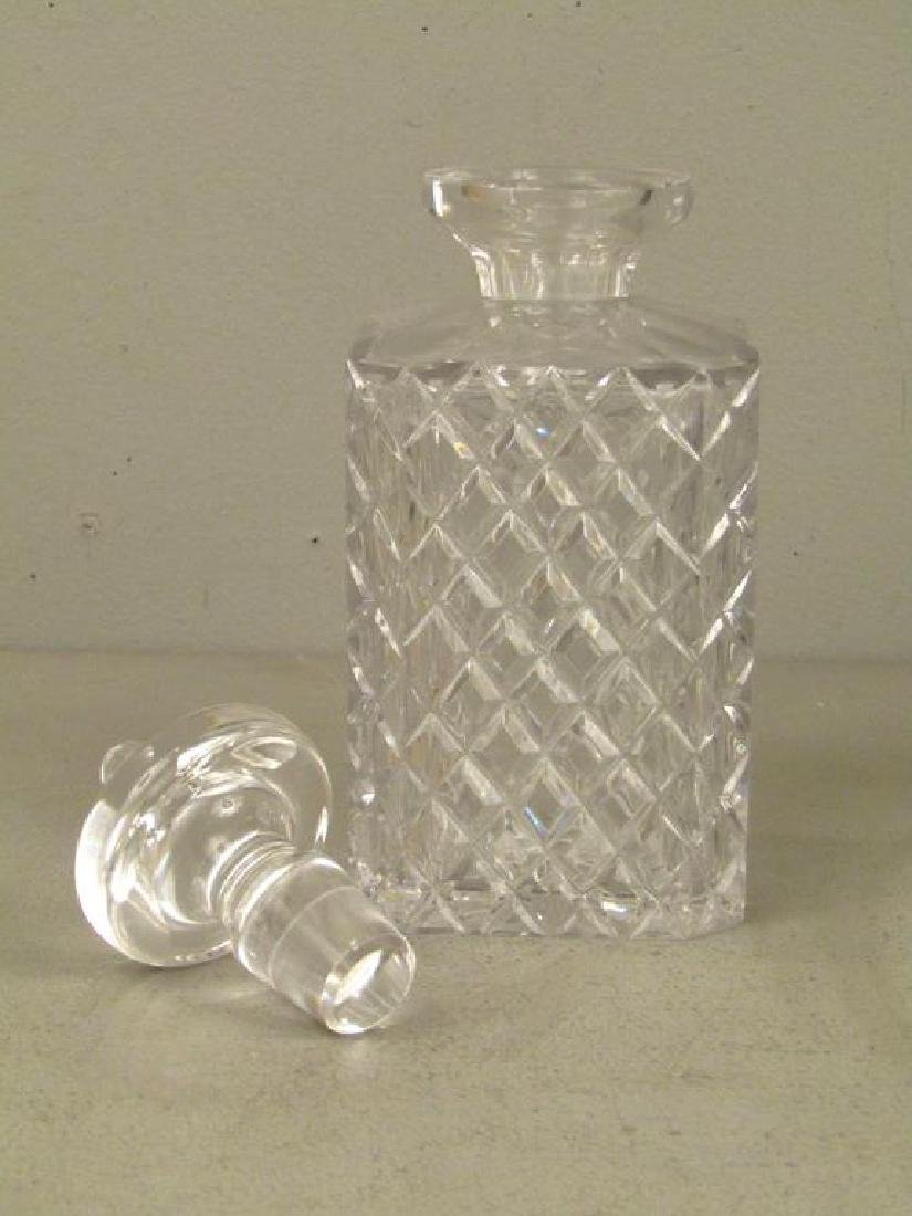 Cut Glass Decanter and Assorted Glassware - 3