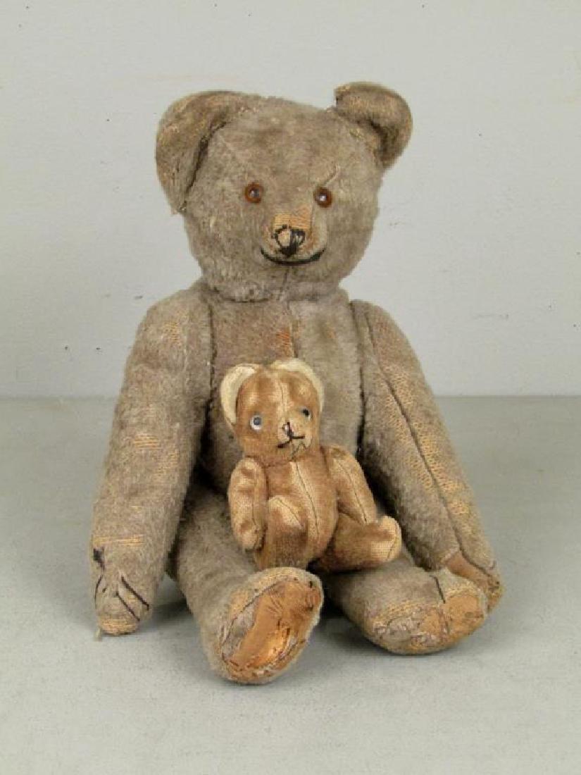 2 Vintage German Toy/Teddy Bears