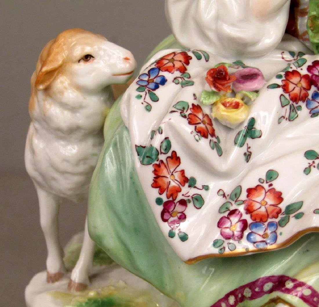 Vienna Porcelain Group - Courting Couple - 5