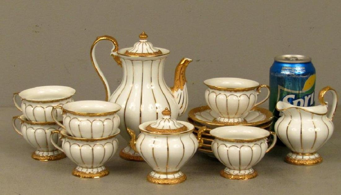 15 Piece Meissen Porcelain Tea Set - 2