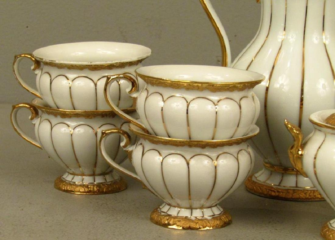 15 Piece Meissen Porcelain Tea Set - 3