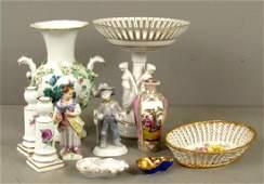Assorted Porcelain Articles