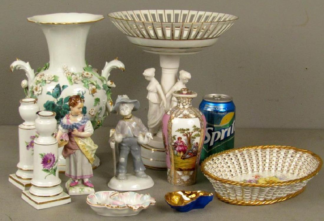 Assorted Porcelain Articles *** - 2