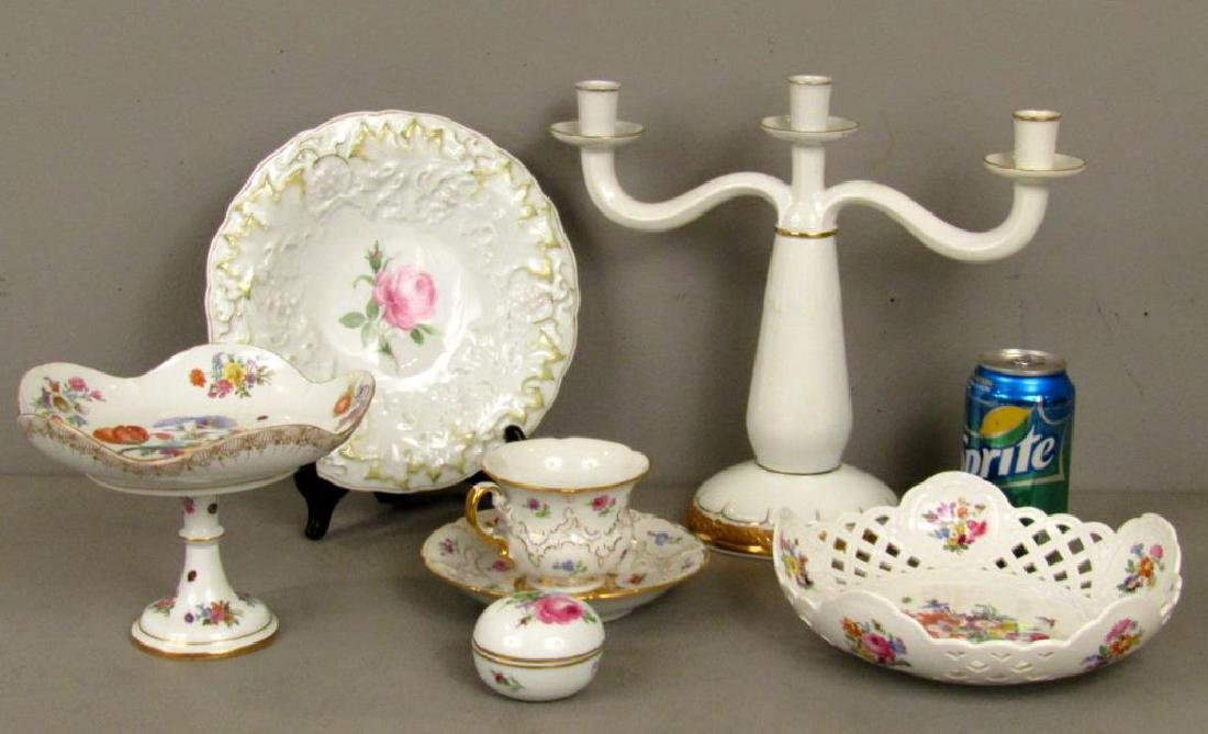 Assorted Meissen Porcelain Articles - 2