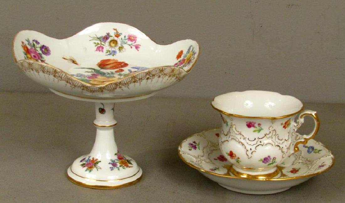 Assorted Meissen Porcelain Articles - 3