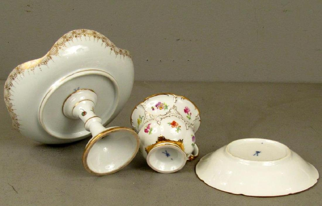 Assorted Meissen Porcelain Articles - 5