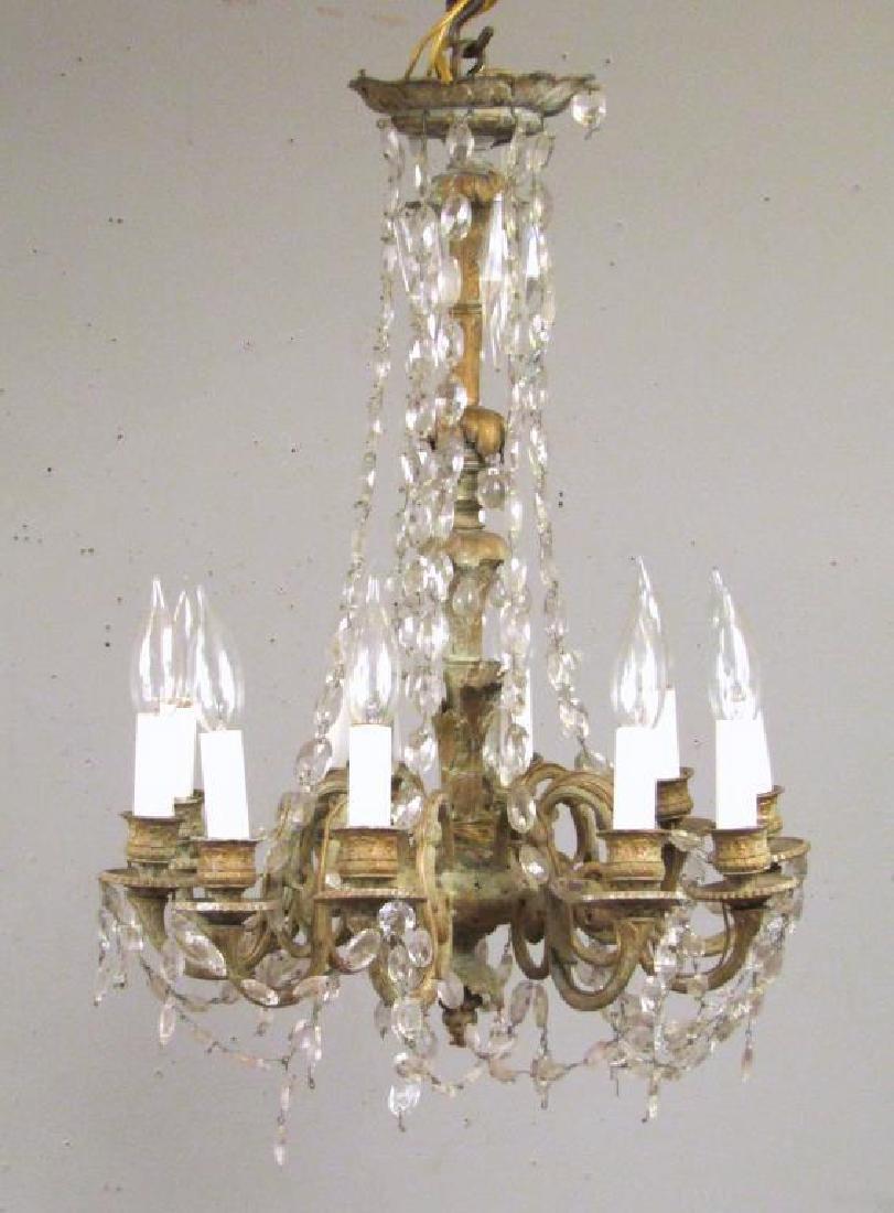 Regency Style 10 Light Chandelier ***