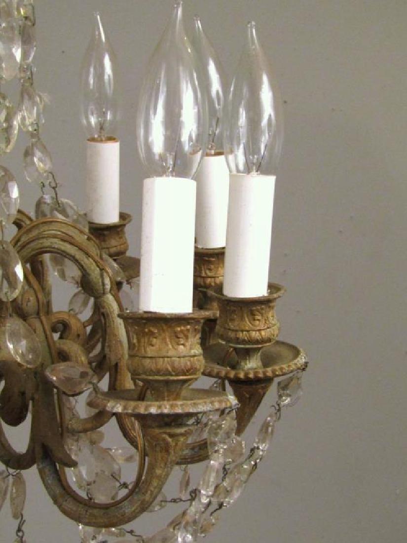 Regency Style 10 Light Chandelier *** - 4