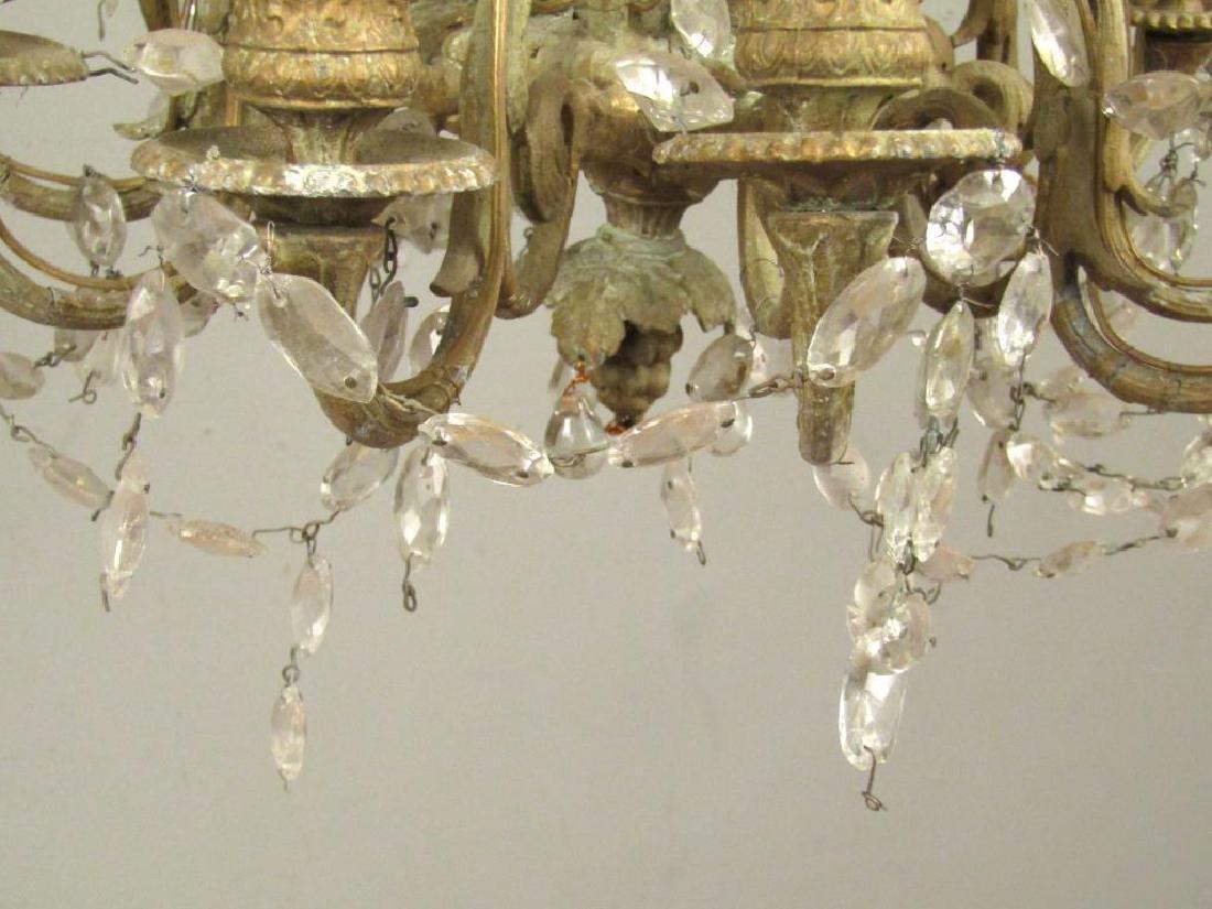 Regency Style 10 Light Chandelier *** - 5