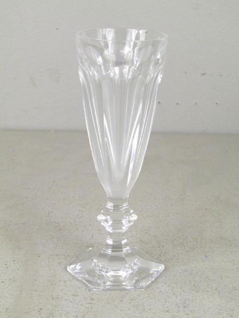 Set of 9 Baccarat Wine Glasses ** - 3