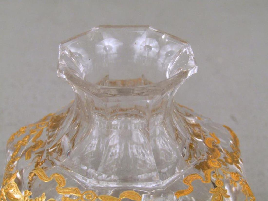 Glass Bottle Attributed to Baccarat - 3