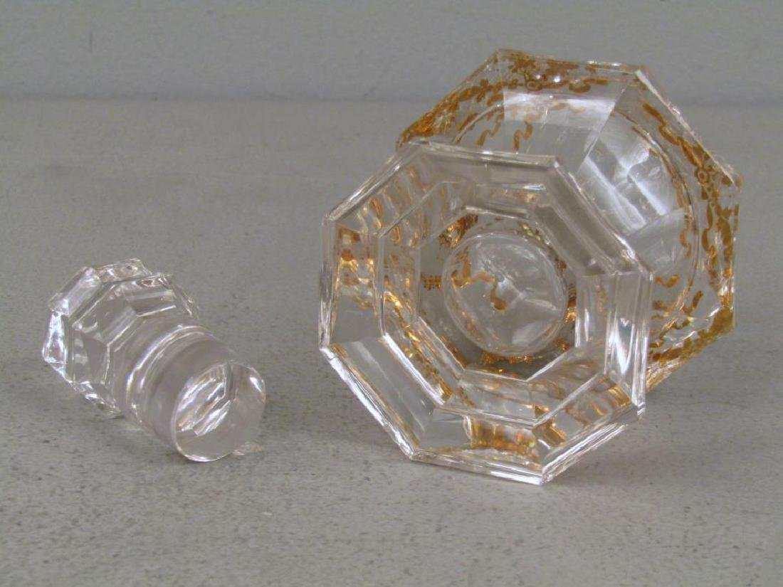 Glass Bottle Attributed to Baccarat - 5