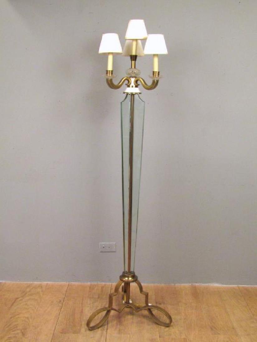 Art Modern 4 Light Floor Lamp