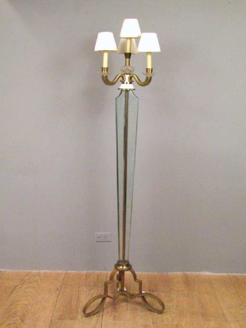 Art Modern 4 Light Floor Lamp