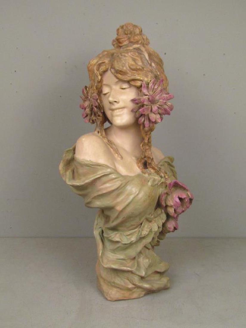 Signed Illegibly - Soft Paste Porcelain Bust