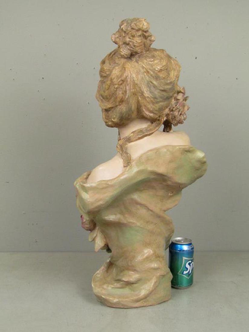 Signed Illegibly - Soft Paste Porcelain Bust - 2